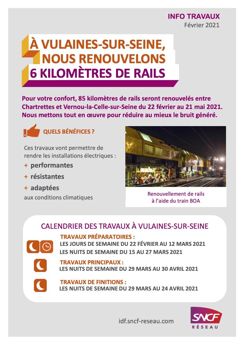 Information travaux SNCF